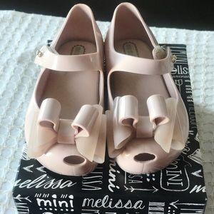 Mini Melissa Large Bow Shoe